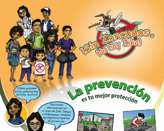 Sin Zancudos No Hay Zika La Prevención Es Tu Mejor Opción
