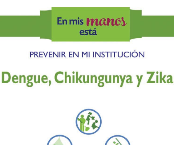 In my institution- prevent Dengue, chikungunya and Zika