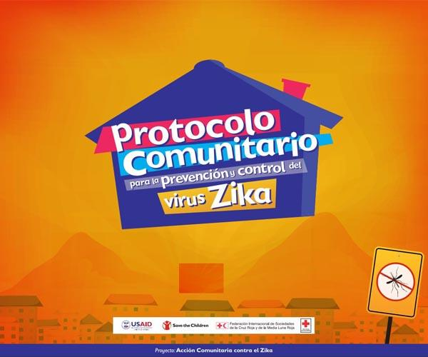 Community surveillance protocol, notification and monitoring of suspected cases of Zika