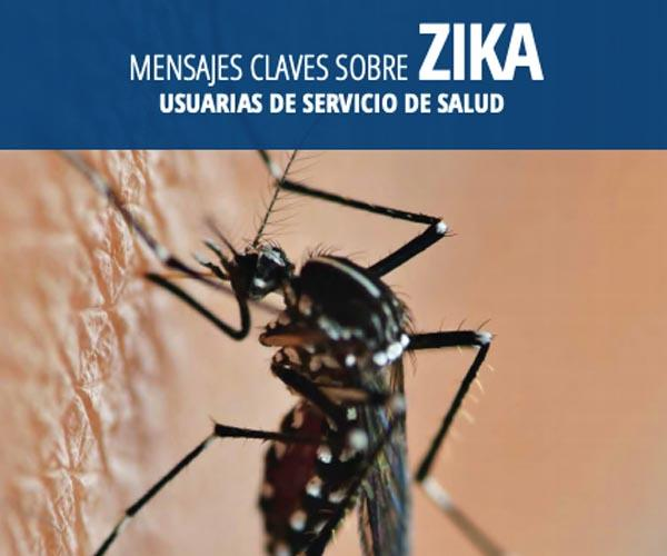 Key messages about Zika: Users of the health service