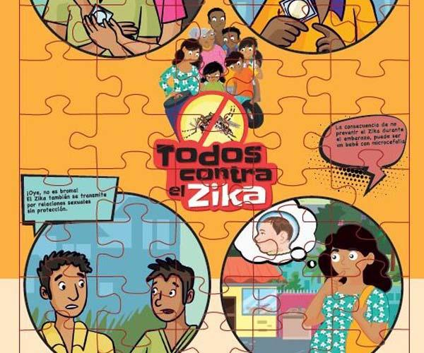 All Against Zika, Puzzle