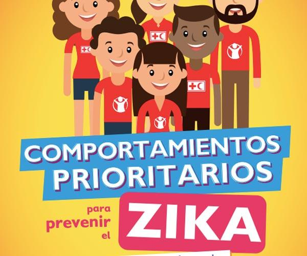 Priority behaviors to prevent Zika. Pocket guide for volunteers.