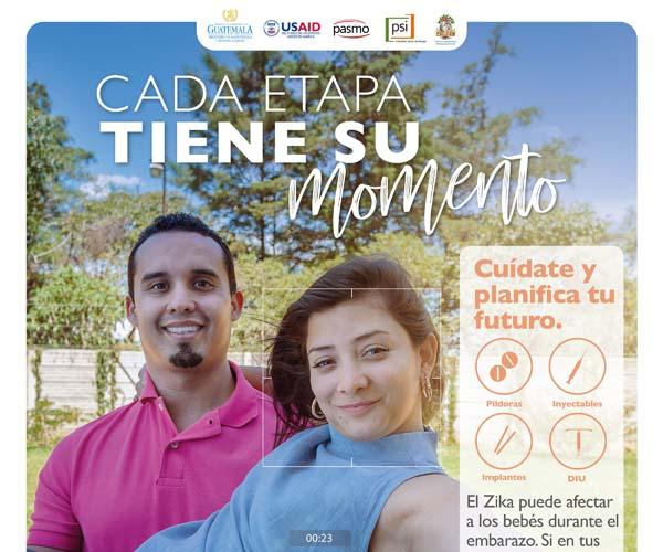 PSI / PASMO Campaign Zika, CA Regional, 2nd Phase (2018-'19); Posters (Guatemala)