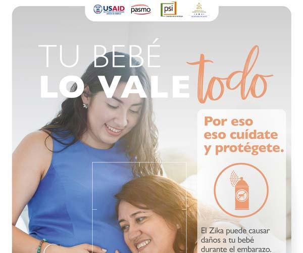 PSI / PASMO Campaign Zika, CA Regional, 2nd Phase (2018-'19); Posters (Honduras)