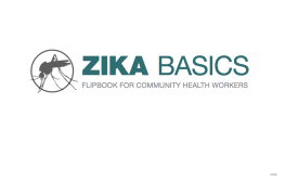 Credit: CDC. Description: Cover page of the Zika Basics for Community Health Workers.