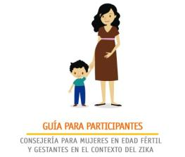 Methodological Guide for participants - Counseling for Women of Pregnant Age in the Context of Zika