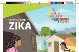 Facilitator for comiciliarias visits zika prevention guide