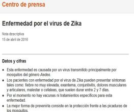 Zika Fact Sheet_Spanish