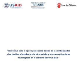 Instructive for the basic psychosocial support of pregnant women and families affected by microcephaly and other neurological complications in the context of the Zika virus