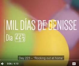 1000 Days of Denisse: Rocking Out at Home